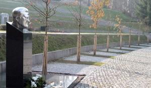 Po śmierci Algirdasa Brazauskasa zrodził się pomysł utworzenia na Antokolskim Cmentarzu Panteonu Prezydentów Litwy Fot. Marian Paluszkiewicz