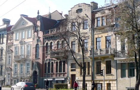 Fragment Kolonii Montwiłłowskiej przy placu Łukiskim Fot. Justyna Giedrojć