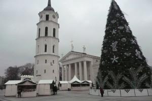 Z ulicy Wawrzyńca Gucewicza roztacza się piękny widok na jego dzieło — Katedrę Wileńską Fot. Justyna Giedrojć
