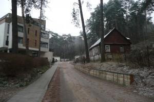 Fragment ulicy Ogińskiego Fot. Justyna Giedrojć