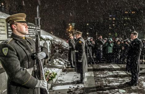 13 stycznia jest obchodzony jako Dzień Obrońców Wolności Fot. ELTA