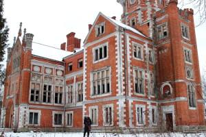 Pałac w Landwarowie boleśnie odczuwa postępujące zniszczenia Fot. Marian Paluszkiewicz