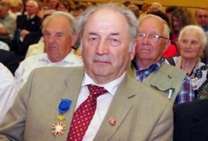 Stanisław Pieszko, były deputowany w Radzie Najwyższej-Sejmie Restytucyjnym, członek  polskiej frakcji  Fot. Marian Paluszkiewicz