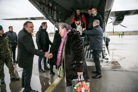 Grupa w sumie 178 Polaków przyleciała do Polski we wtorek, 13 stycznia. Fot. archiwum