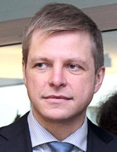 Mer elekt Remigijus Šimašius     Fot. Marian Paluszkiewicz