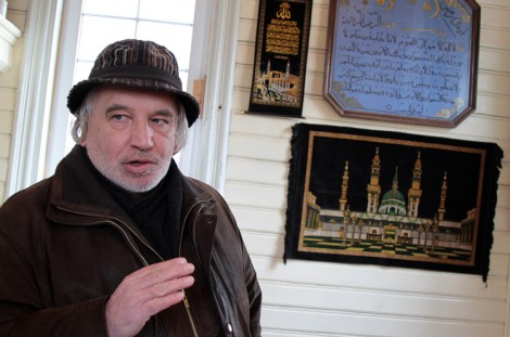 Prezes Wspólnoty Tatarów w Niemieżu Tair Kuzniecow twierdzi, że jest ona największą wśród wspólnot tatarskich na Litwie  Fot. Marian Paluszkiewicz