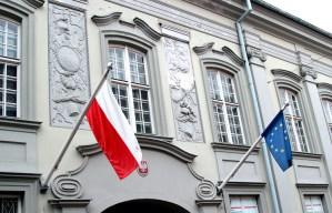 Pałac Paców przy ul. Świętojańskiej obecnie należy do ambasady RP na Litwie Fot. Marian Paluszkiewicz