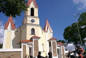 Kościół pw. Wniebowzięcia Najświętszej Maryi Panny w Mejszagole Fot. Marian Paluszkiewicz