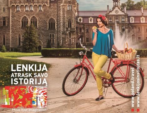 Podczas tegorocznej akcji promocyjnej na przystankach komunikacji miejskiej w Wilnie zostanie wywieszonych 68 plakatów reklamowych Fot. Instytut Polski w Wilnie