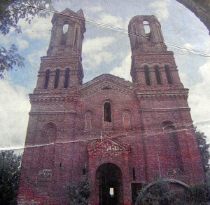 Kościół św. Barbary w Witebsku w latach 80. przed odnowieniem Fot. archiwum