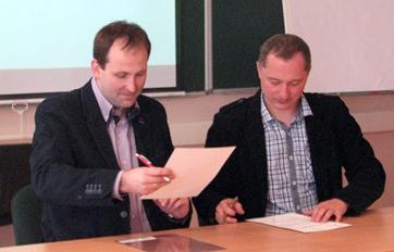 Na spotkaniu podpisano umowę o współpracy            Fot. archiwum