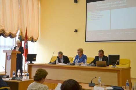 Po raz ostatni Rada kadencji 2011-2014 Samorządu Rejonu Wileńskiego podjęła wiele ważnych uchwał