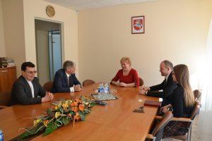 W trakcie spotkania omówiono możliwości podjęcia studiów na łomżyńskiej PWSIP
