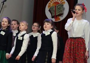 Śpiewano nie tylko głosami, ale też sercami Fot. Marian Paluszkiewicz