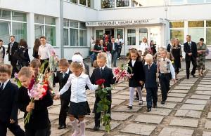 Wysoką pozycję w rankingu zajmuje również Szkoła Średnia im. Władysława Syrokomli w Wilnie Fot. Marian Paluszkiewicz