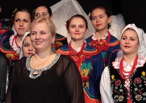 Renata Brasel:Bardzo się cieszymy, że te dwie imprezy tak się harmonijnie wplotły do jubileuszu 60-lecia zespołu  Fot. Marian Paluszkiewicz