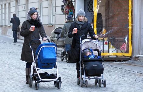 W 2014 r. na Litwie urodziło się 31 300 osób  Fot. Marian Paluszkiewicz
