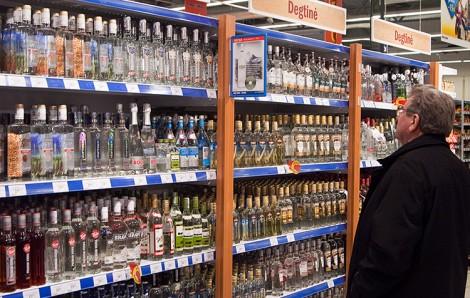 W latach 80. ludzie mogli tylko pomarzyć o takiej ilości i różnorodności alkoholu Fot. Marian Paluszkiewicz