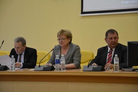 Na posiedzeniu - wiele pytań, dyskusji i zatwierdzonych uchwał