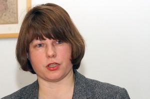 Przewodnicząca komisji językowej Daiva Vaišnienė    Fot. Marian Paluszkiewicz