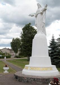 Kapliczka Serca Jezusowego ku czci 2000 -lecia chrześcijaństwa Fot. Marian Paluszkiewicz