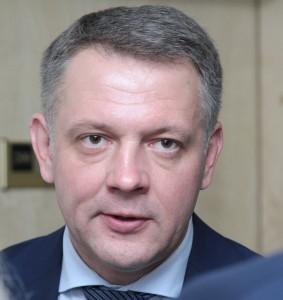 Poseł Eligijus Masiulis    Fot. Marian Paluszkiewicz