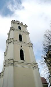 Dzwonnica kościoła pw. św. św. Janów  Fot. Justyna Giedrojć