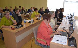 Podczas posiedzenia Rady ogółem rozpatrzono 35 projektów decyzji