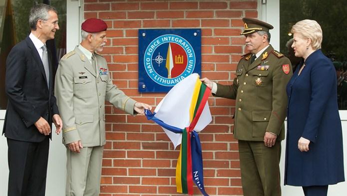 Szpica NATO w Wilnie
