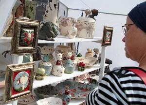 Wybór ceramiki jest naprawdę imponujący Fot. Marian Paluszkiewicz