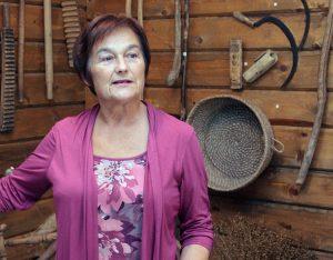 Kustoszka Gražina Stanionė Fot. Marian Paluszkiewicz