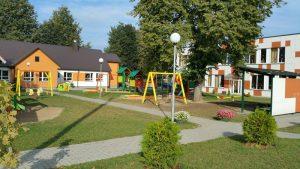 Odnowiony budynek przedszkola został całkowicie dostosowany do potrzeb dzieci