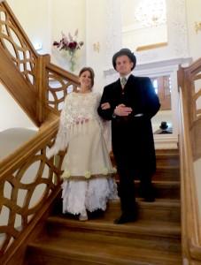W pałacowych wnętrzach zachowano klimat XIX wieku Fot. Anna Pieszko
