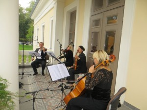 W oczekiwaniu na gości Fot. Anna Pieszko
