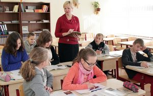 Praca nauczyciela wymaga nie tylko umiejętności, ale też talentu i zaangażowania Fot. Marian Paluszkiewicz