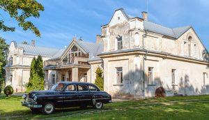 Pałac pod Bobtami został zbudowany przez Giedrojciów w XVIII w., po nich majątek nabyli Tyszkiewiczowie, a po II wojnie światowej otrzymał go litewski generał Vladas Nagevičius Fot. Marian Paluszkiewicz