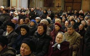 """Opieki – to najbardziej """"rozmodlony"""" z odpustów Fot. Marian Paluszkiewicz"""