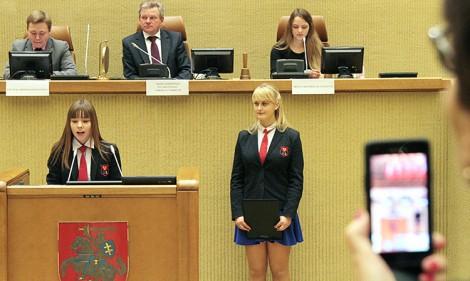 """Uroczyste posiedzenie z okazji zakończenia konkursu """"Niezależny nasz kraj"""" Fot. Marian Paluszkiewicz"""