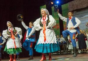 Tancerze-weterani byli pełni werwy i energii Fot. Marian Paluszkiewicz