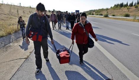 Od grudnia integracja pierwotna w centrum uchodźców zostanie skrócona o połowę, czyli do 3 miesięcy Fot. EPA-ELTA