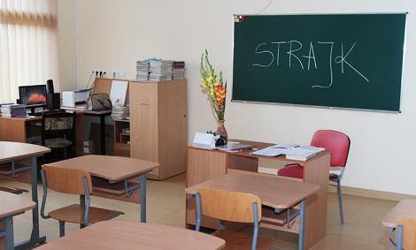Oświatowe związki zawodowe żądały przywrócenia finansowania sprzed 2009 r. Fot. Marian Paluszkiewicz