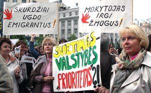 Nauczyciele bezskutecznie domagali się spełnienia żądań od kilku lat Fot. Marian Paluszkiewicz