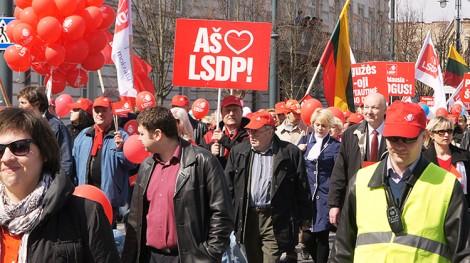 Partia Socjaldemokratów zgromadza coraz więcej zwolenników Fot. Marian Paluszkiewicz