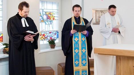 Nabożeństwo Ekumeniczne w kaplicy w Santaryszkach Fot. M. P.