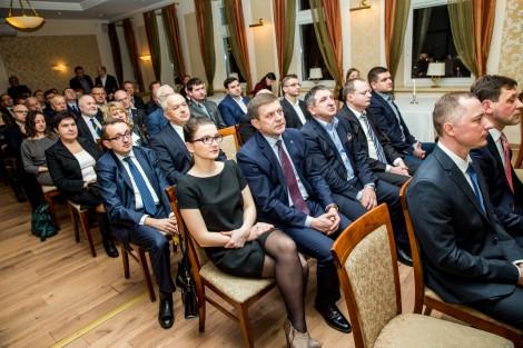 Polscy przedsiębiorcy spotkali się w DKP już po raz czwarty Fot. zw.lt