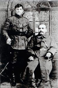 Vladas Vaickelionis (od lewej) Fot. archiwum