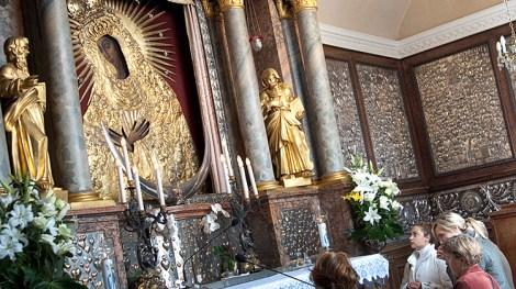 Planuje się kolejny remont Kaplicy Ostrobramskiej Fot. Marian Paluszkiewicz