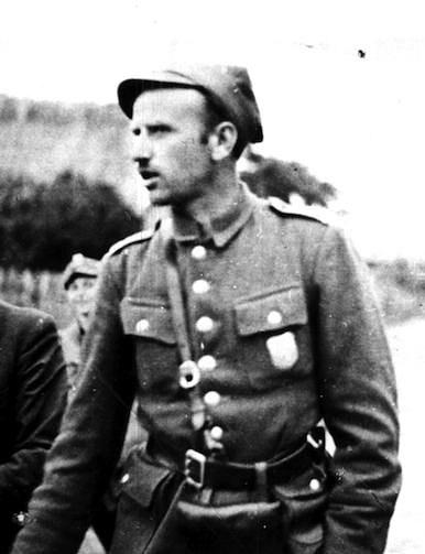 """Zygmunt Edward Szendzielarz, ps. """"Łupaszka"""" Fot. archiwum"""