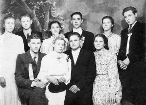 Zdjęcie ślubne Janiny i Władysława Stackiewiczów (rok 1960)  Fot. archiwum rodzinne