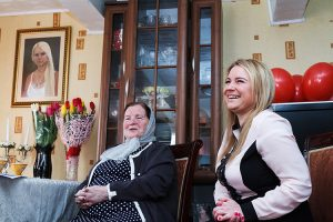Mamę i córkę Ritę łączą najbliższe więzi  Fot. Marian Paluszkiewicz